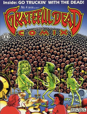 Grateful Dead Comix, No. 4