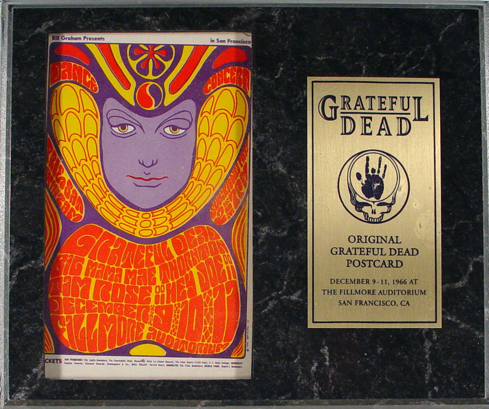 Grateful Dead Plaque Plaque