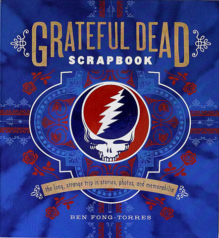 Grateful Dead Scrapebook Book
