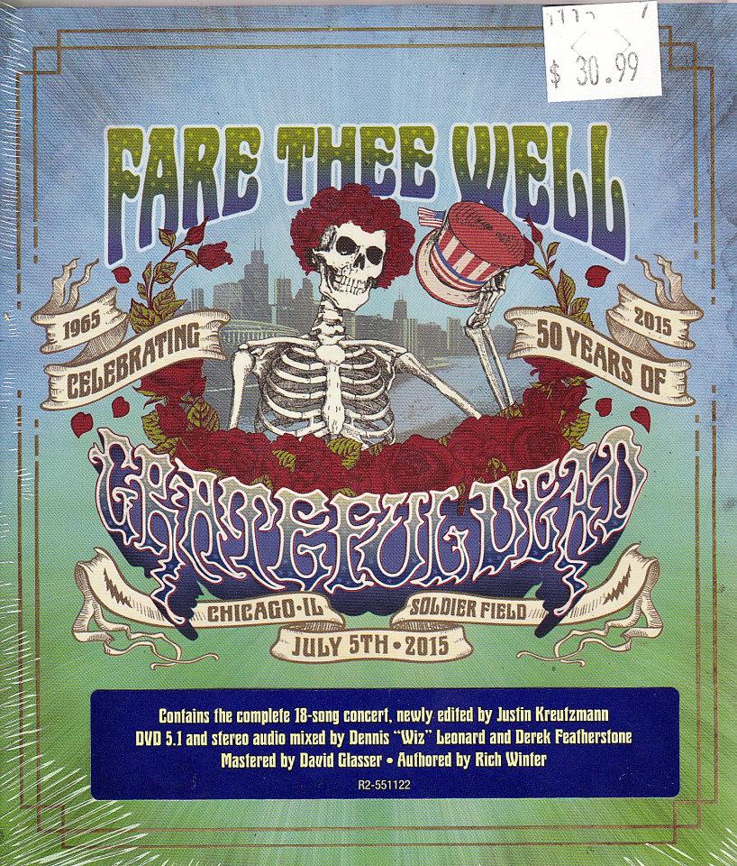 Grateful Dead DVD