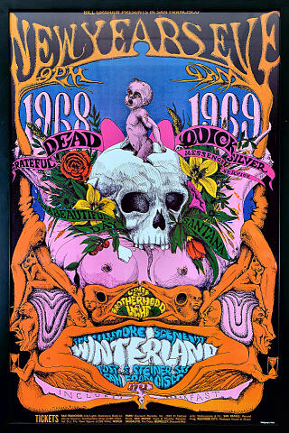 Grateful Dead Framed Poster