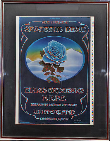 Grateful Dead Framed Proof