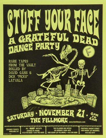 Grateful Dead Handbill