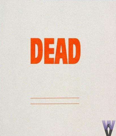 Grateful Dead Laminate reverse side