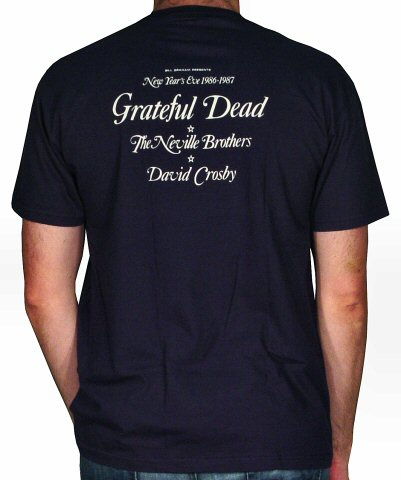 Grateful Dead Men's T-Shirt reverse side