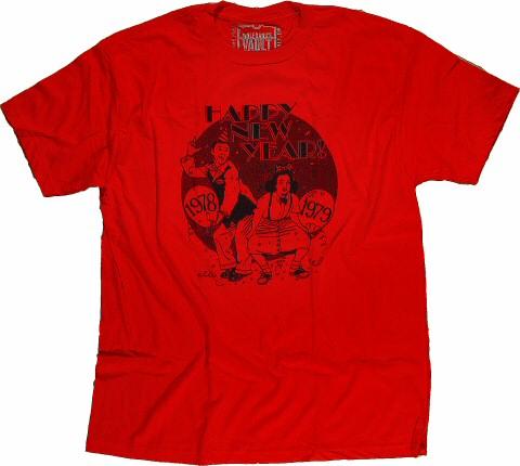 Grateful Dead Men's T-Shirt reverse side