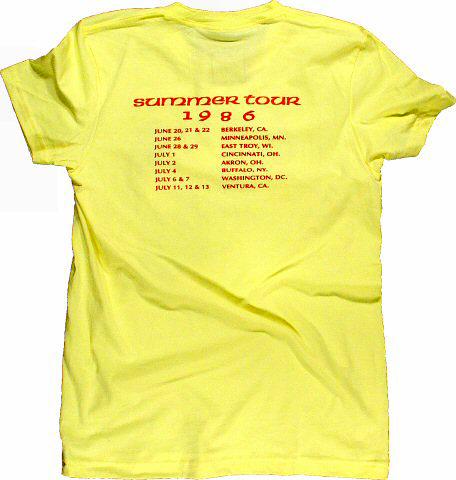 Grateful Dead Women's T-Shirt reverse side