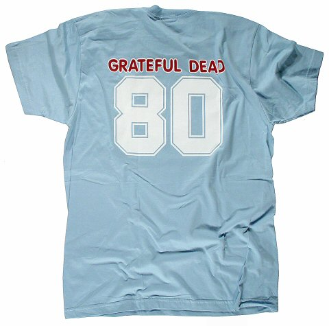 Grateful Dead Women's T-Shirt reverse side