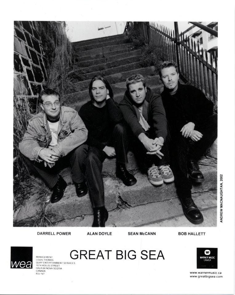 Great Big Sea Promo Print