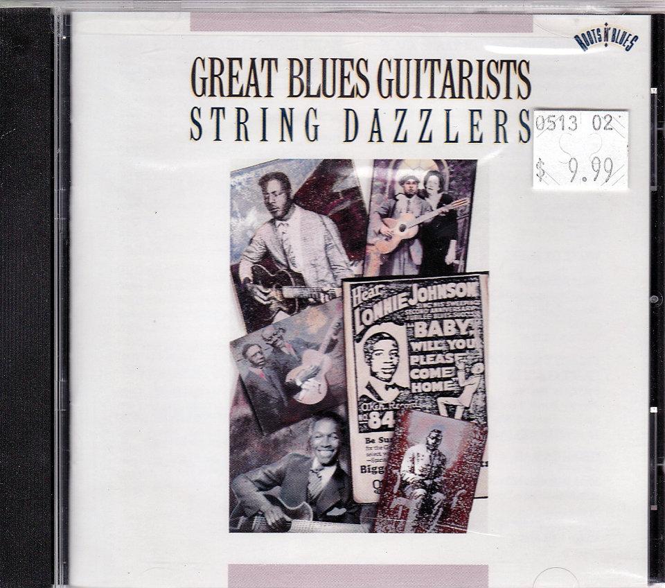 Eddie Lang And Lonnie Johnson Blue Guitars