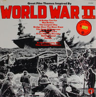 "Great Film Themes Inspired By World War II Vinyl 12"" (Used)"