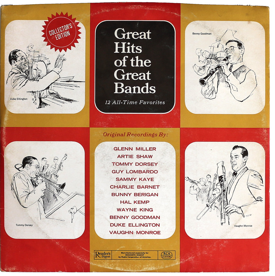 Great Hits Of The Great Bands Vinyl 12 Quot Used 1940 At