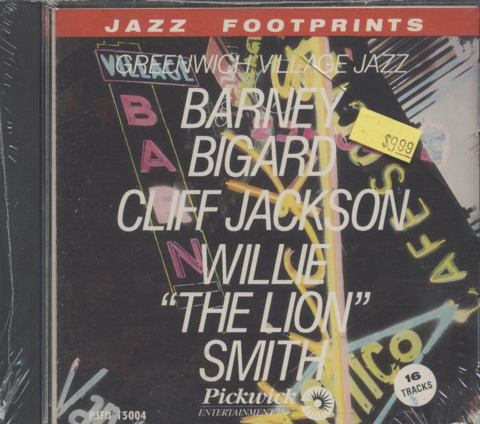 Greenwich Village Jazz CD
