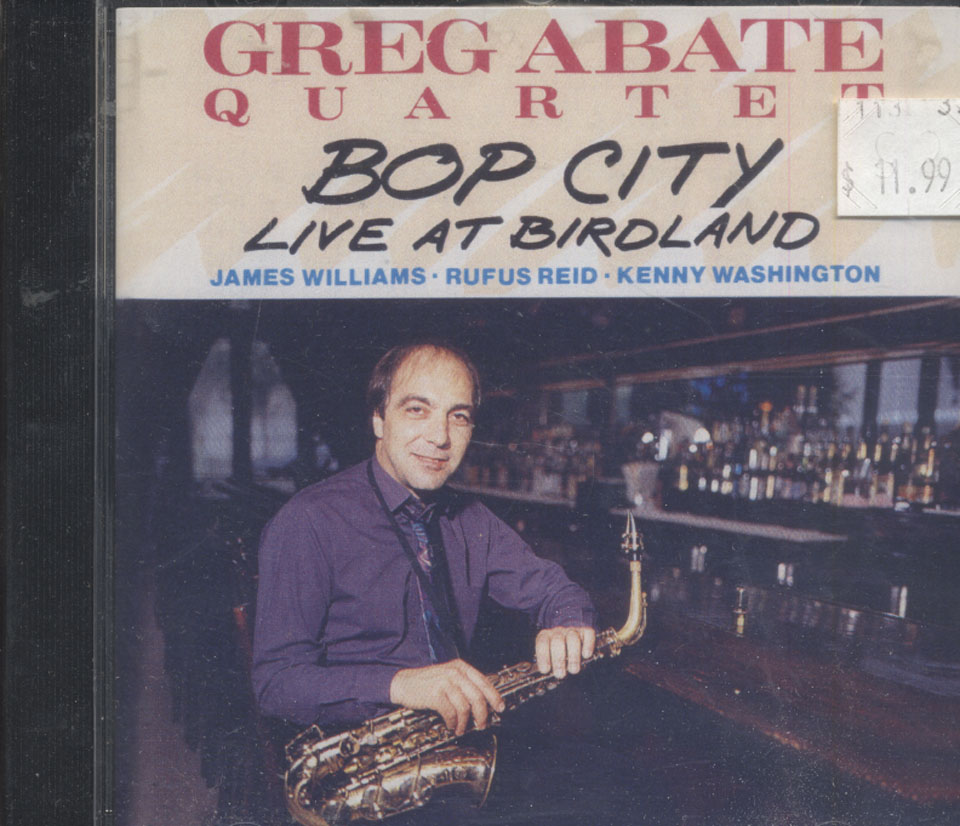 Greg Abate Quartet CD