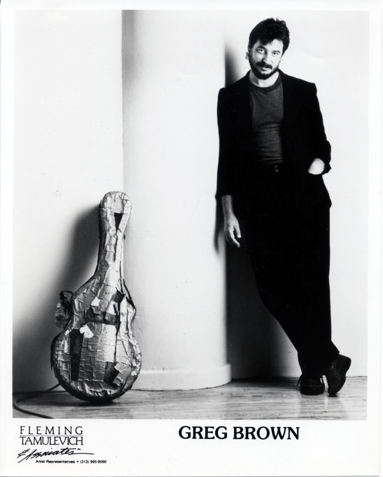 Greg Brown Promo Print