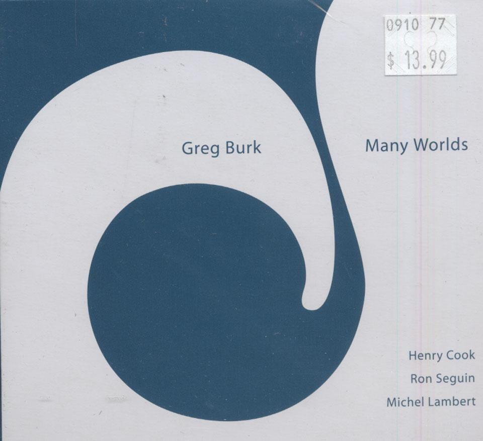 Greg Burk CD