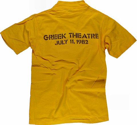 Greg Kihn Band Men's Vintage T-Shirt reverse side