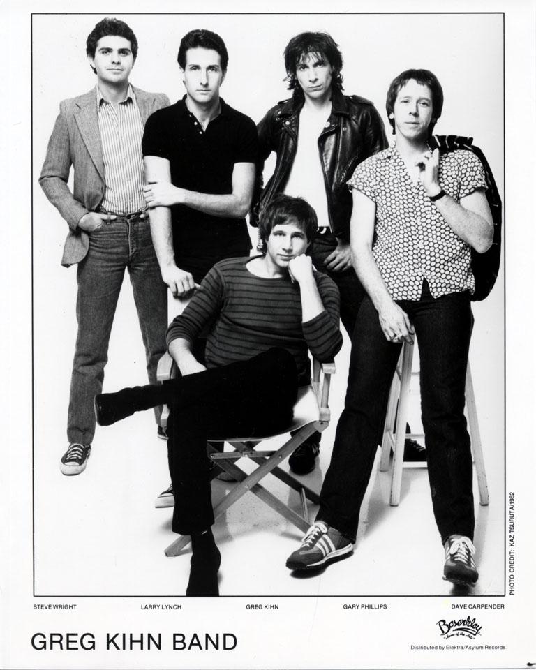 Greg Kihn Band Promo Print