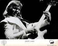 Greg Lake Promo Print