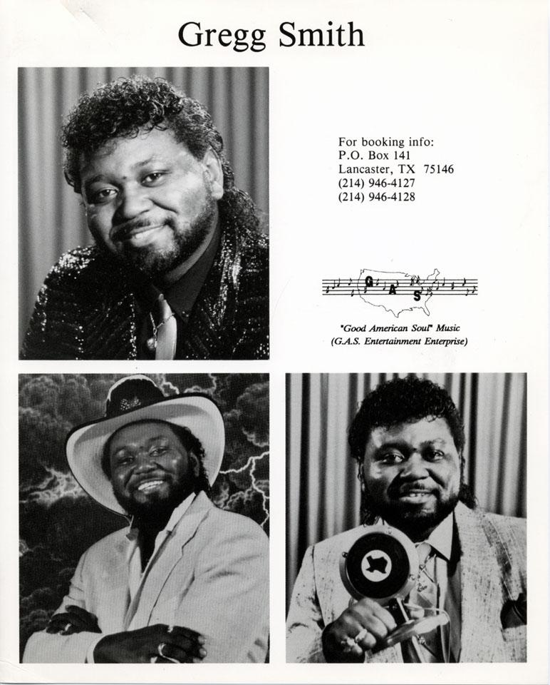 Greg Smith Promo Print
