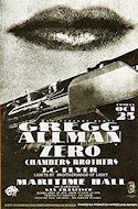 Gregg Allman Handbill