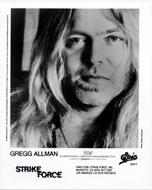 Gregg Allman Promo Print