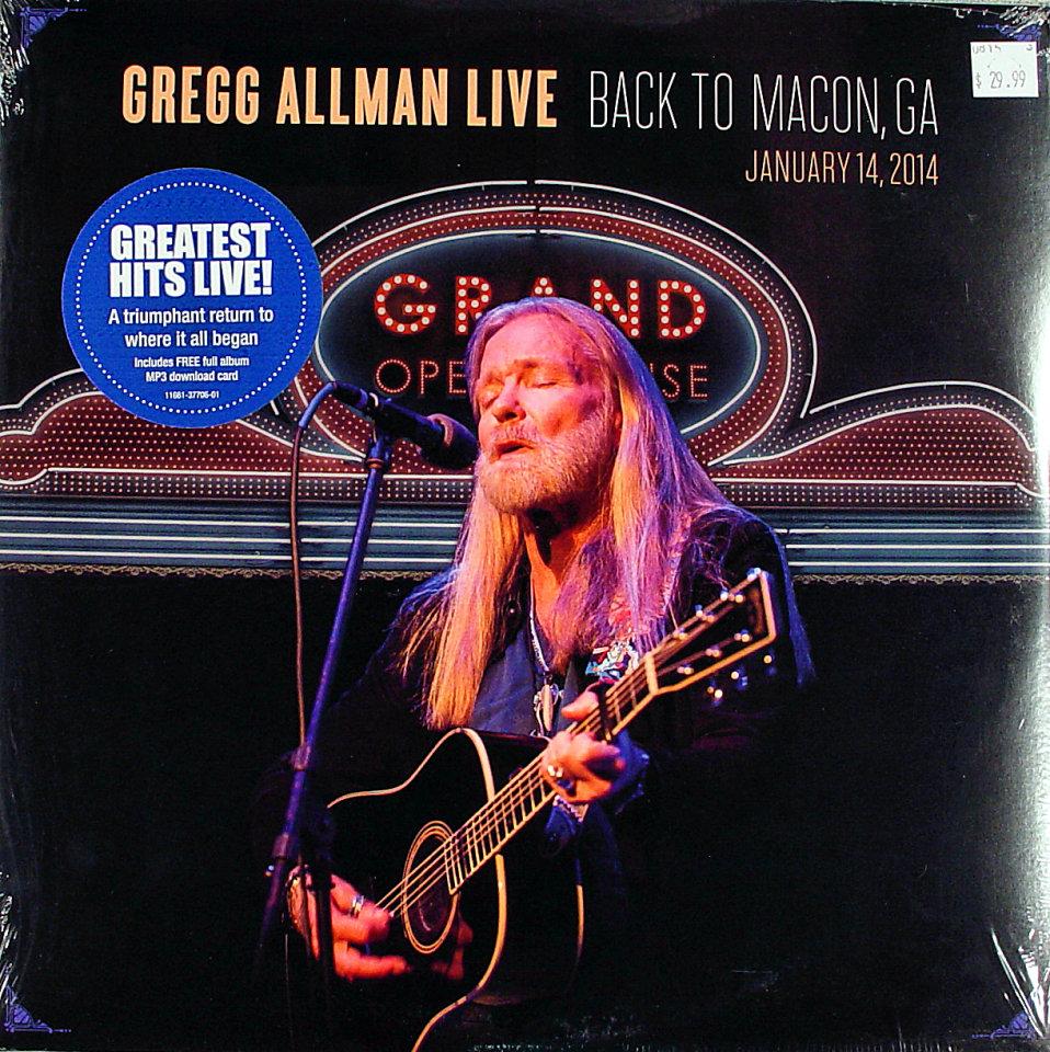 """Gregg Allman Vinyl 12"""" (New)"""