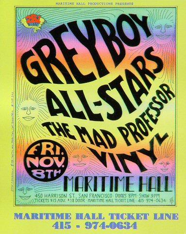 Greyboy Allstars Handbill