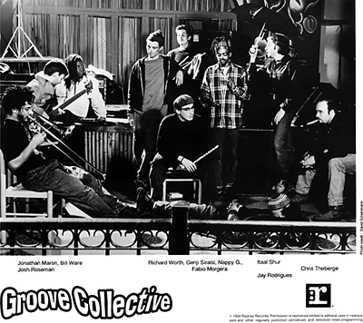 Groove Collective Promo Print