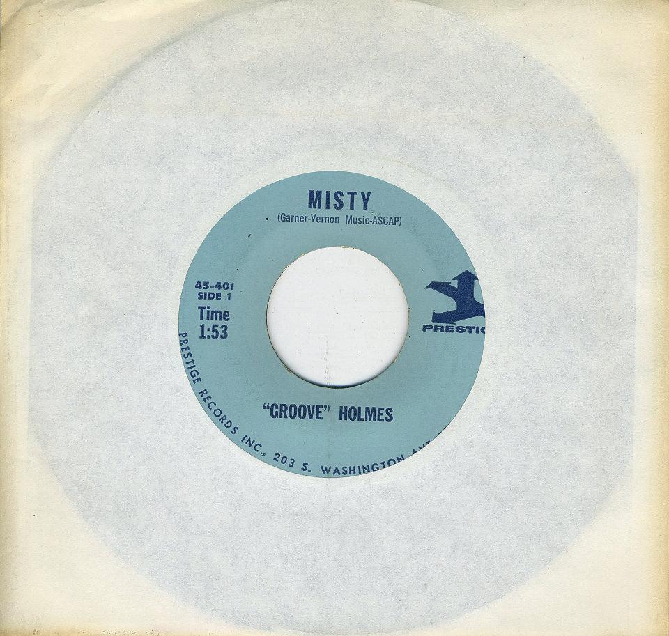 """Groove Holmes Vinyl 7"""" (Used)"""