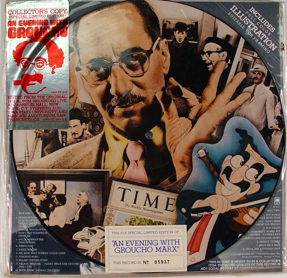 """Groucho Marx Vinyl 12"""" (Used)"""