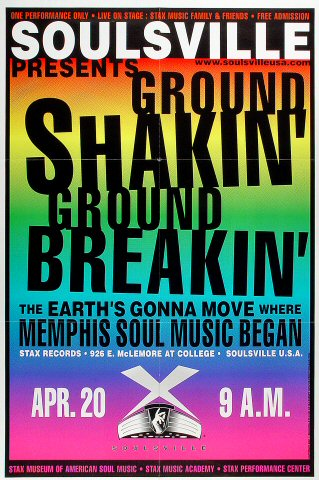 Ground Shakin' Ground Breakin' Poster