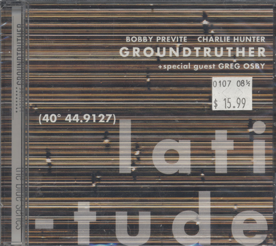 Groundtruther CD