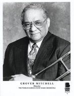 Grover Mitchell Promo Print
