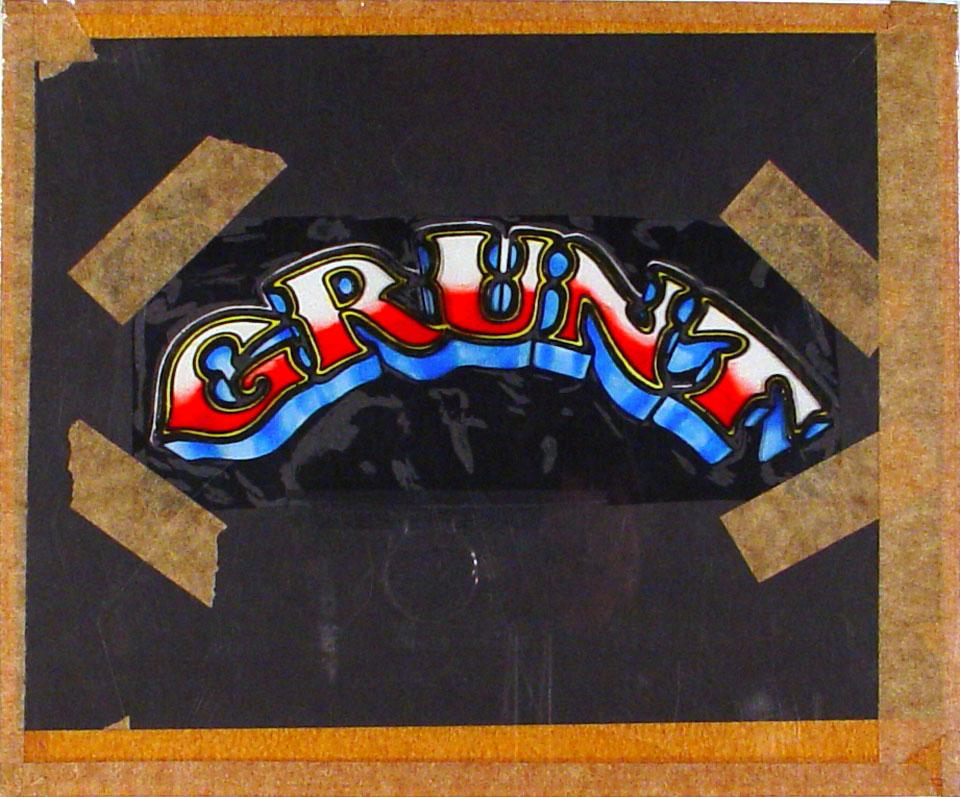Grunt Original Art
