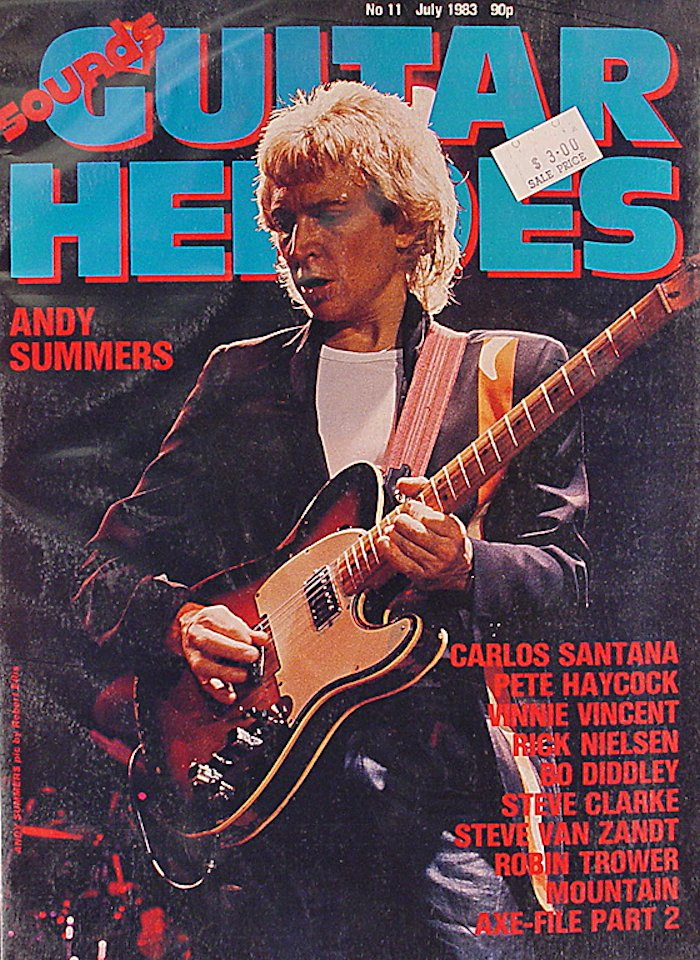 Guitar Heroes Magazine July 1983 Magazine