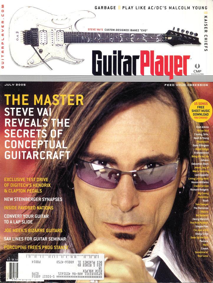 Guitar Player  Jul 1,2005