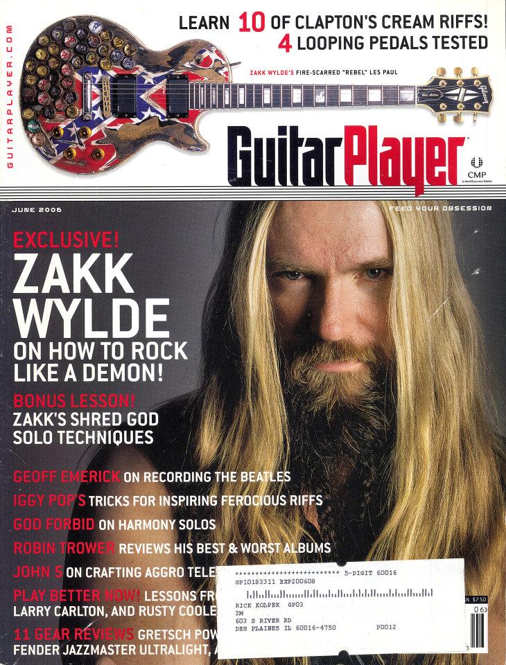 Guitar Player  Jun 1,2009