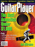 Guitar Player Magazine April 1998 Magazine