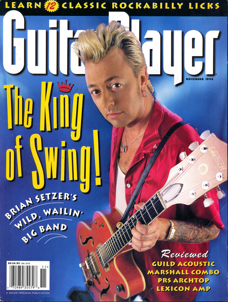 Guitar Player  Nov 1,1998