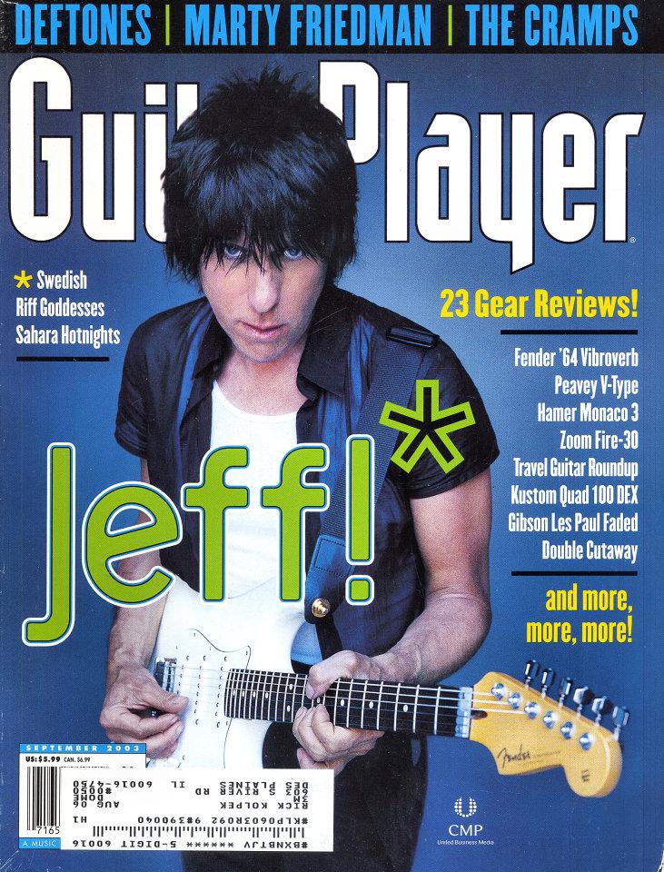 Guitar Player  Sep 1,2003
