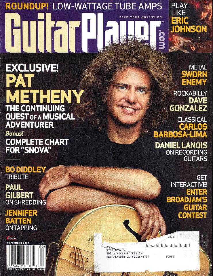 Guitar Player  Sep 1,2008