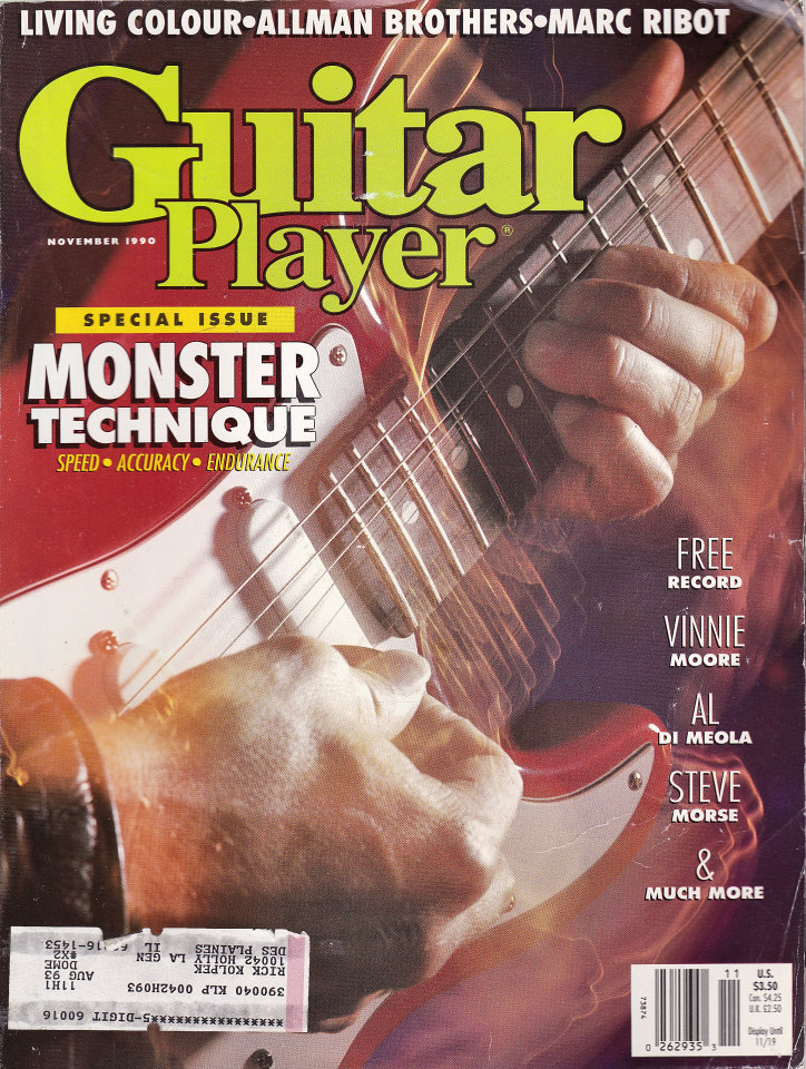 Guitar Player Vol. 24 No. 11