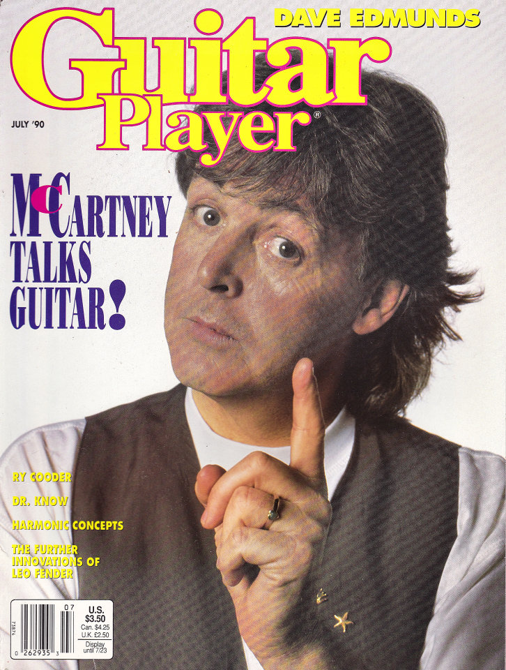 Guitar Player Vol. 24 No. 7