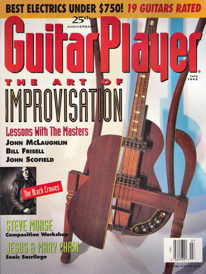 Guitar Player Vol. 26 No. 7