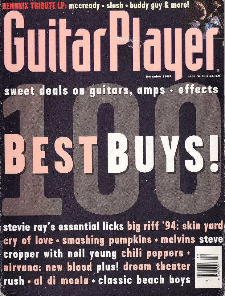 Guitar Player Vol. 27 No. 12