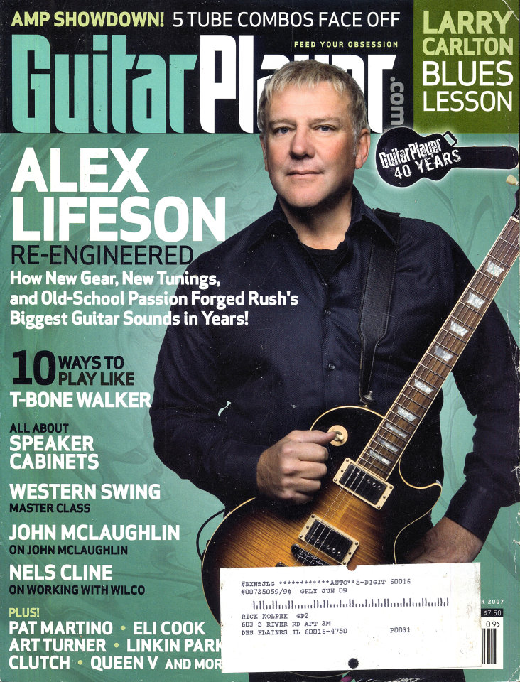 Guitar Player Vol. 41 No. 9