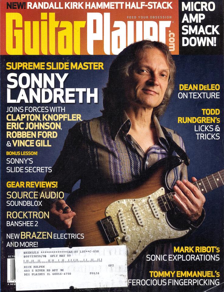 Guitar Player Vol. 42 No. 10