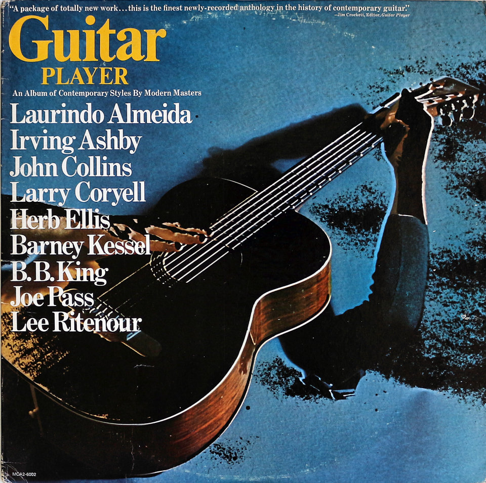 "Guitar Player Vinyl 12"" (Used)"