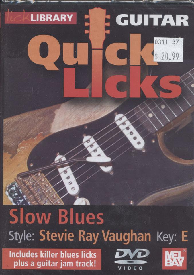 Guitar Quick Licks DVD